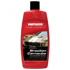 California Gold® Brazilian Carnauba Cleaner Wax (Liquid) -16oz