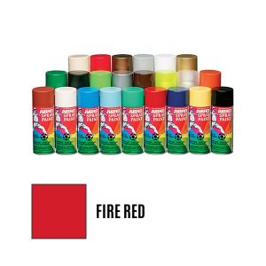 Spray Paint: Fire Red