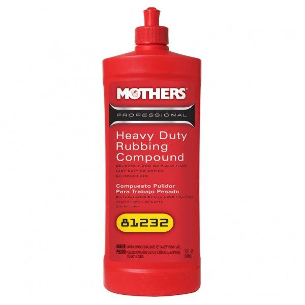 Pro Heavy Duty Rubbing Compound-32oz