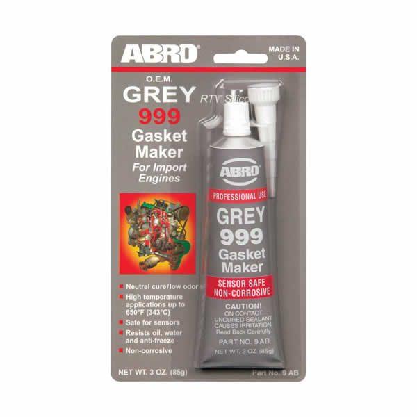 Abro Grey Silicone 3oz